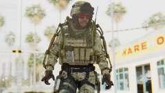 CoD AW US Marine Assault v3 Head C для GTA San Andreas