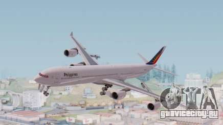 Airbus A340-600 Philippine Airlines для GTA San Andreas