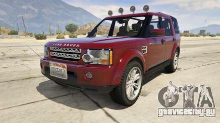 Land Rover Discovery 4 для GTA 5