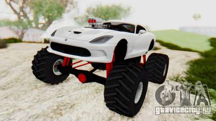 Dodge Viper SRT GTS 2012 Monster Truck для GTA San Andreas