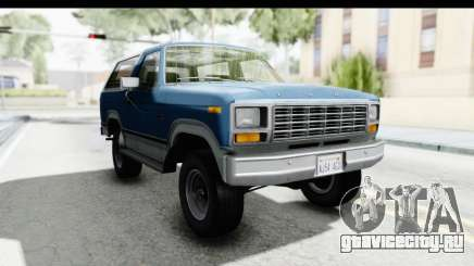 Ford Bronco 1980 для GTA San Andreas