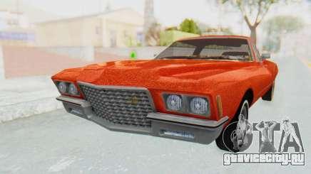 Buick Riviera 1972 Boattail Lowrider для GTA San Andreas