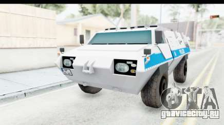 Hermelin TM170 Polizei для GTA San Andreas
