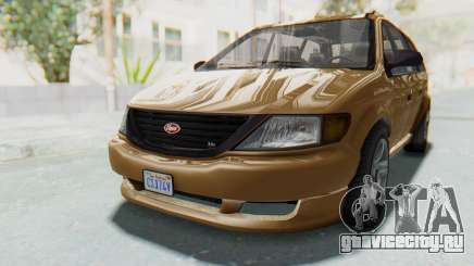 GTA 5 Vapid Minivan для GTA San Andreas