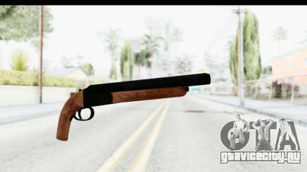 GTA 5 Double Barrel Sawn-Off для GTA San Andreas