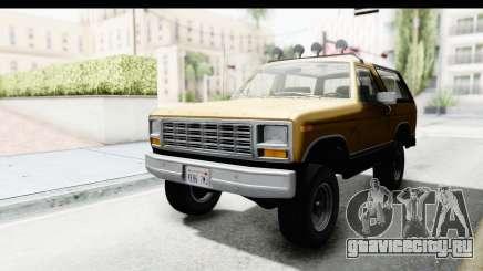 Ford Bronco 1980 Roof IVF для GTA San Andreas