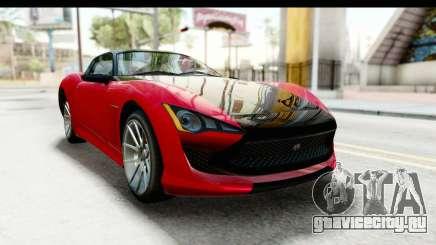 GTA 5 Lampadati Furore GT IVF для GTA San Andreas