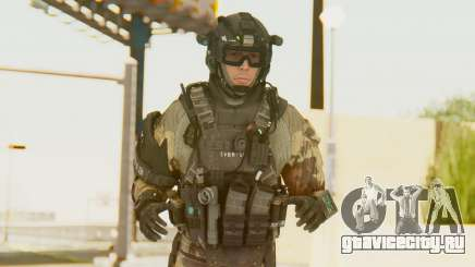 Federation Elite Assault Woodland-Flora для GTA San Andreas