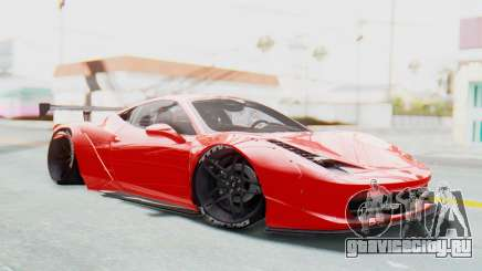 Ferrari 458 Liberty Walk для GTA San Andreas