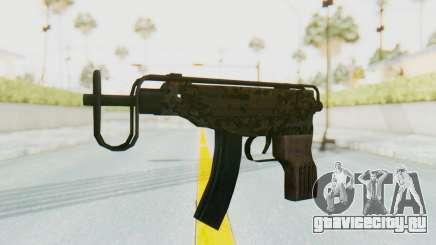 VZ-61 Skorpion Fold Stock Russian Gorka Camo для GTA San Andreas