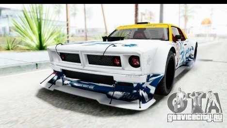 GTA 5 Declasse Drift Tampa для GTA San Andreas вид сверху