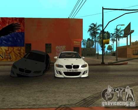 BMW M3 Armenian для GTA San Andreas вид сверху