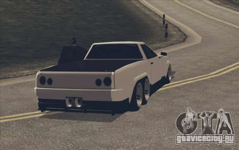 Elegy Ibragim для GTA San Andreas вид сзади слева