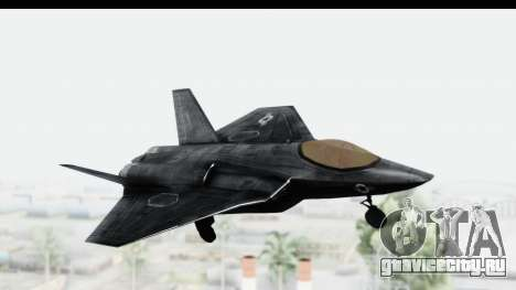 CoD Black Ops 2 - FA-38 для GTA San Andreas вид сзади слева