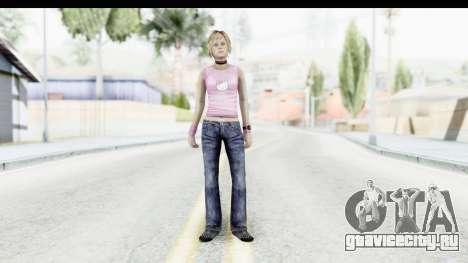 Silent Hill 3 - Heather Sporty Light Pink HK для GTA San Andreas второй скриншот