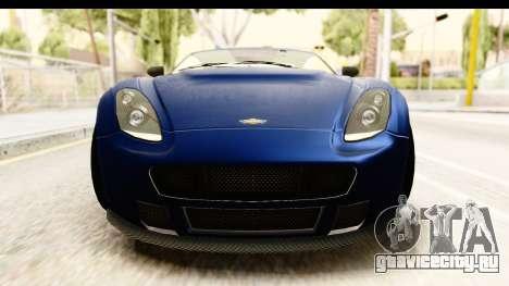 GTA 5 Dewbauchee Rapid GT для GTA San Andreas вид сбоку