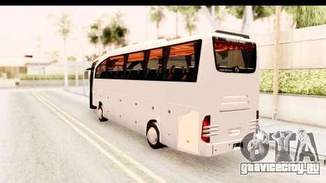 Mercedes-Benz Travego для GTA San Andreas вид слева