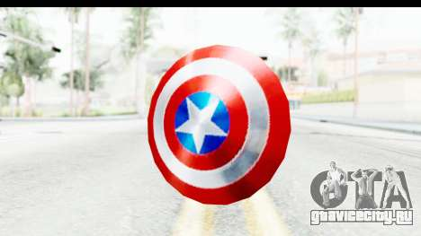 Capitan America Shield Classic для GTA San Andreas