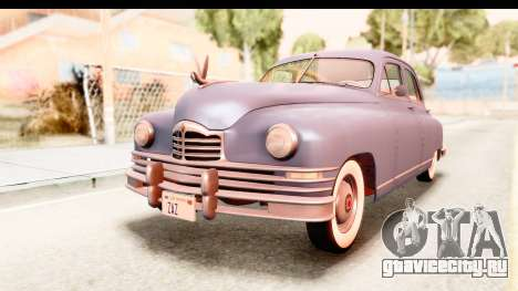 Packard Standart Eight 1948 Touring Sedan для GTA San Andreas вид справа