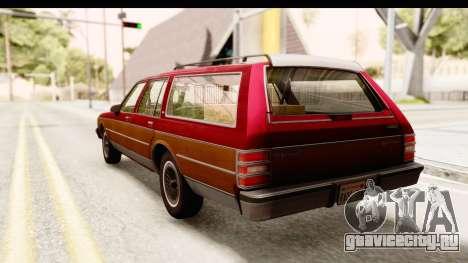 Chevrolet Caprice 1989 Station Wagon IVF для GTA San Andreas вид слева