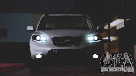 Hyundai Santa Fe Stock для GTA San Andreas вид слева