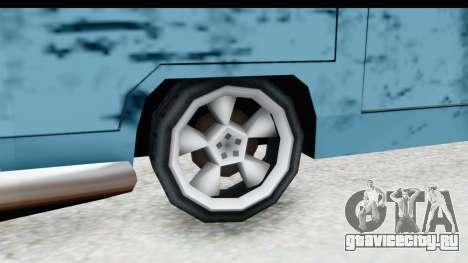 New Camper для GTA San Andreas вид сзади