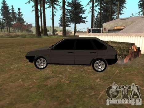 ВАЗ 2109 Классика для GTA San Andreas вид сзади слева