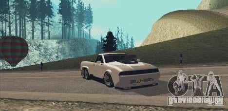 Elegy Ibragim для GTA San Andreas вид справа