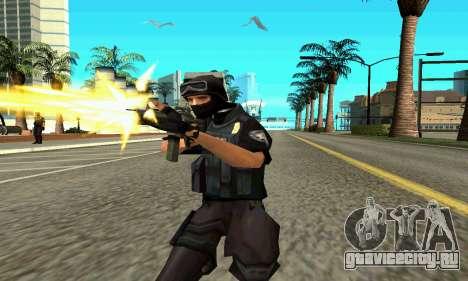 NextGen изменённого оригинального скина SWAT для GTA San Andreas