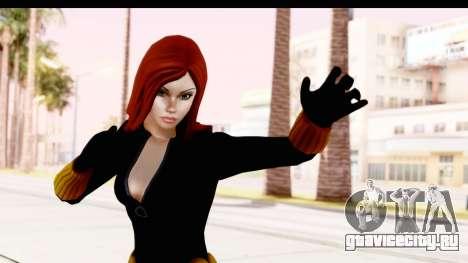Marvel Heroes - Black Widow для GTA San Andreas
