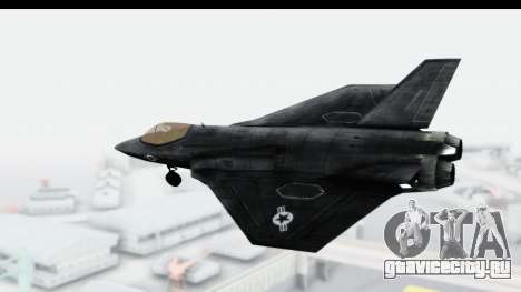 CoD Black Ops 2 - FA-38 для GTA San Andreas вид слева