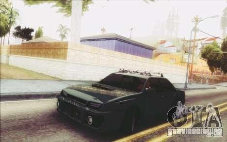 New Stance Sultan для GTA San Andreas вид слева