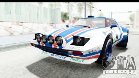 GTA 5 Lampadati Tropos Rallye IVF для GTA San Andreas двигатель