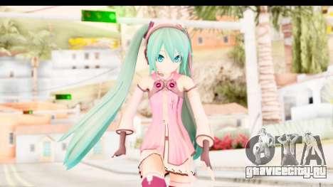 Project Diva F - Hatsune Miku Vocal Star Remade для GTA San Andreas