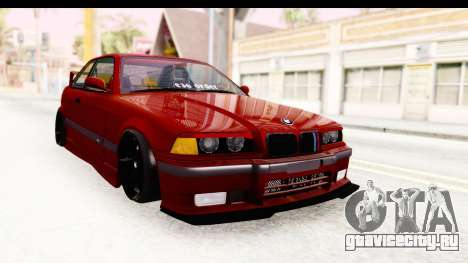 BMW M3 E36 Spermatozoid Edition для GTA San Andreas вид справа