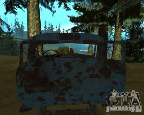 Старая ржавая ГАЗ 53 для GTA San Andreas второй скриншот