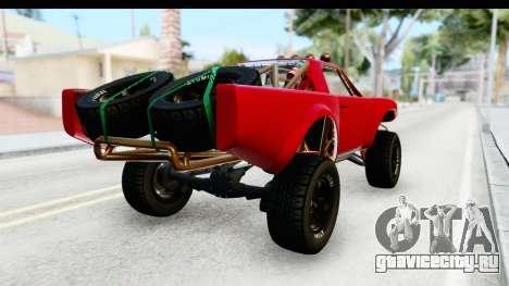 GTA 5 Trophy Truck SA Lights для GTA San Andreas вид сзади слева