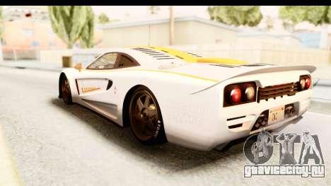 GTA 5 Progen Tyrus SA Style для GTA San Andreas салон