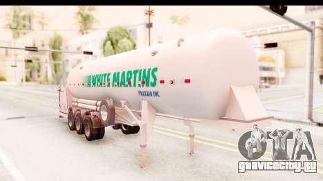Trailer Brasil v5 для GTA San Andreas вид справа