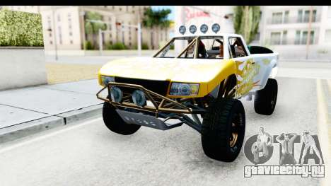 GTA 5 Trophy Truck SA Lights PJ для GTA San Andreas вид сбоку