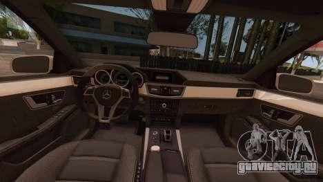 Mercedes-Benz E63 GSC для GTA San Andreas вид справа