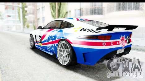 GTA 5 Ocelot Lynx SA Lights для GTA San Andreas салон