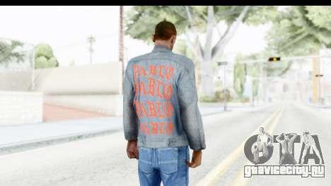 PABLO Denim Jacket для GTA San Andreas третий скриншот