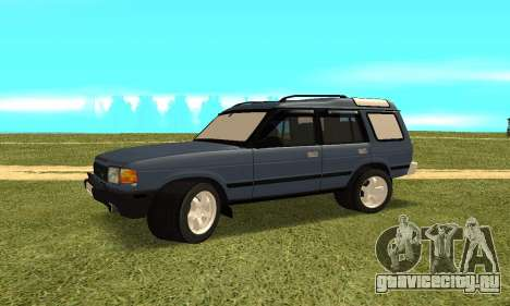 Land Rover Discovery 2B для GTA San Andreas вид справа