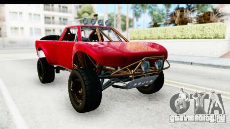 GTA 5 Trophy Truck SA Lights для GTA San Andreas вид справа