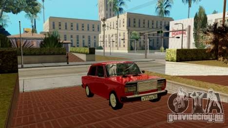rus_racer ENB v1.0 для GTA San Andreas пятый скриншот