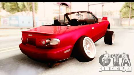 Mazda Miata with Crazy Camber для GTA San Andreas