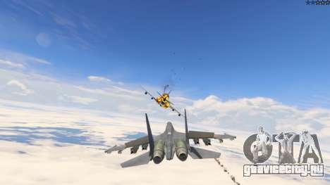 Су-30МКК HQ Китайский для GTA 5 девятый скриншот