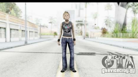 Silent Hill 3 - Heather Sporty Dark Gray Obama для GTA San Andreas второй скриншот