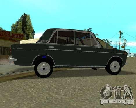 ВАЗ 2103 Armenian для GTA San Andreas вид изнутри